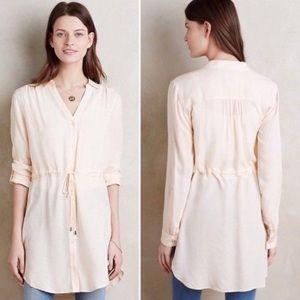 HD in Paris Pale Peach Tunic Dress Pullover L